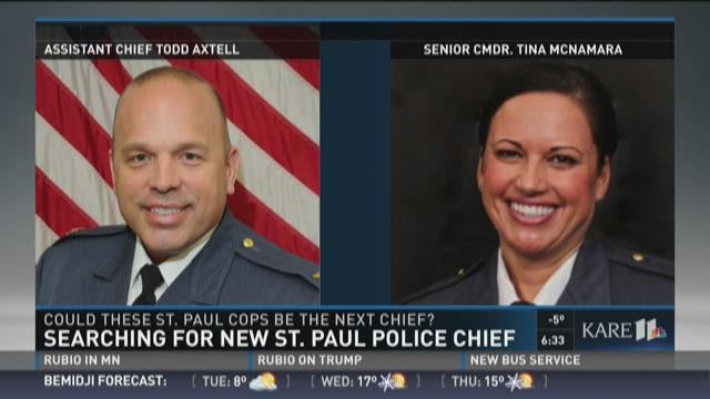 Search for new St. Paul Police Chief pt. 1