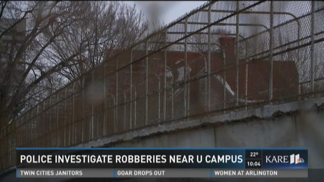Police investigate robberies near U of M