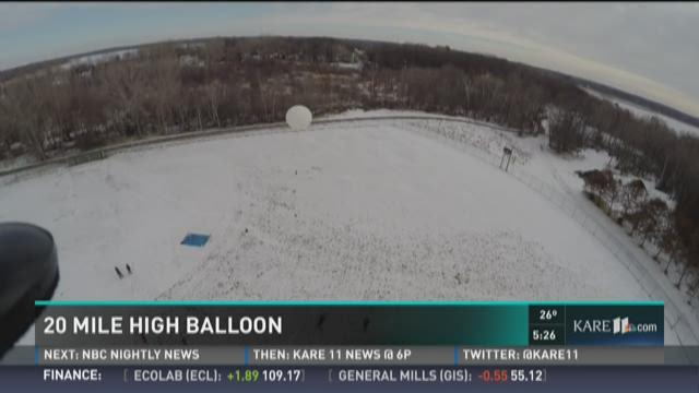 How high can a balloon go before it pops?