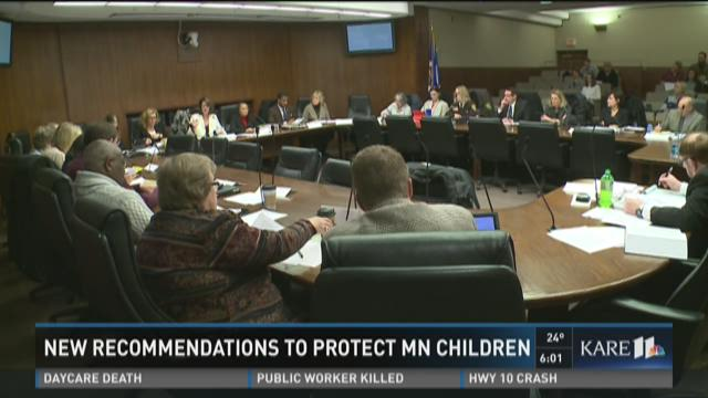New recommendations to protect MN children