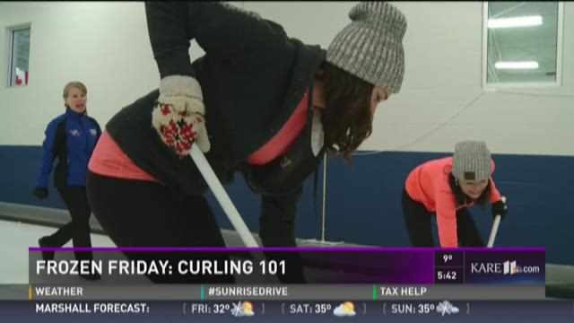 Frozen Friday: Curling 101