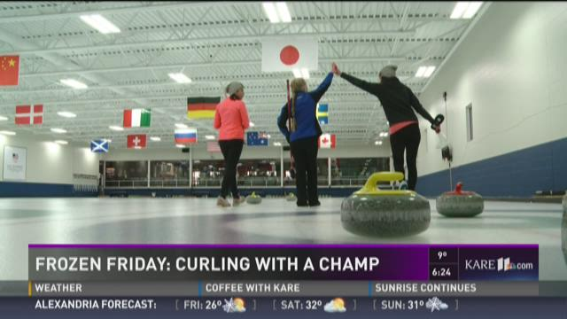 Frozen Friday: Curling with a Champ