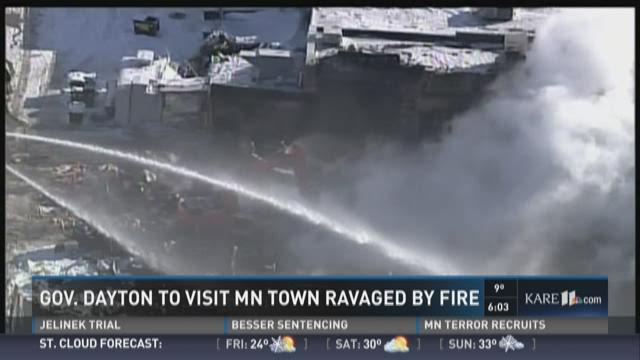 Dayton to tour  Madelia fire site