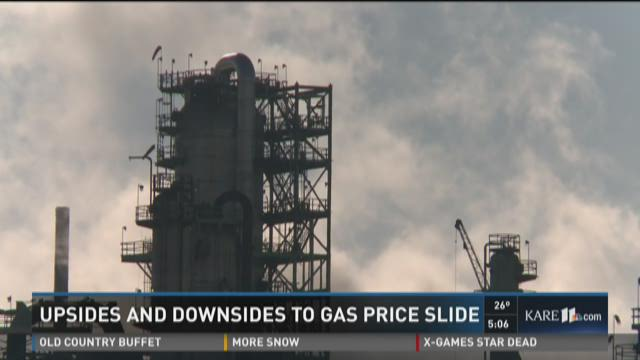 Upsides and downsides to gas price slide