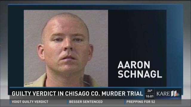 Guilty verdict in Chisago County murder trial