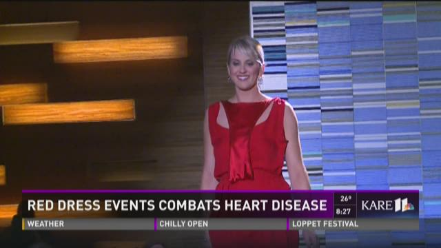 Red Dress event combats heart disease