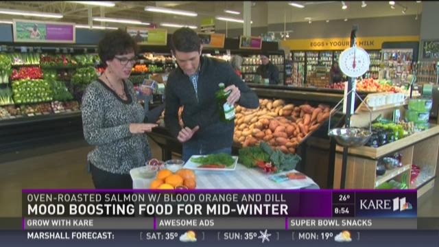 Mood-boosting food for mid-winter