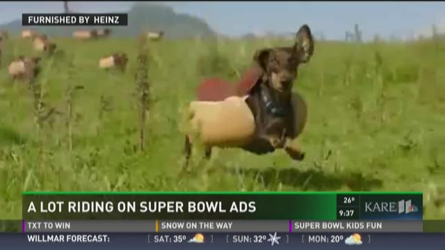 A lot riding on Super Bowl ads