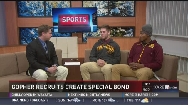 Gopher recruits create special bond