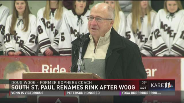 South St. Paul renames rink after Woog