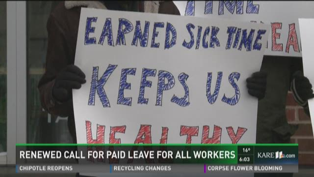 Renewed call for paid leave for all workers