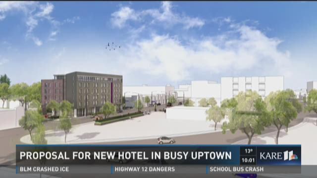 Proposal for new hotel in busy Uptown