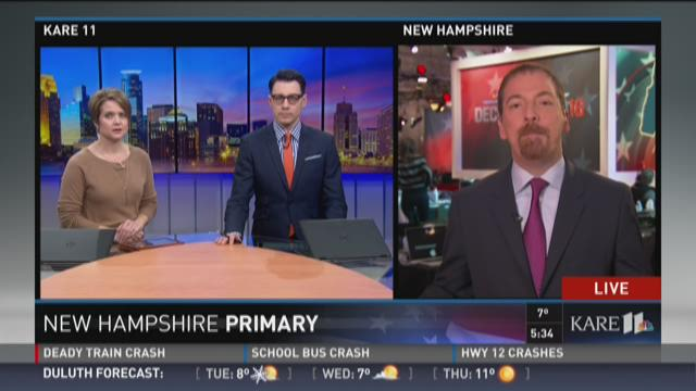 Chuck Todd talks New Hampshire primary