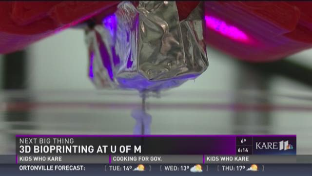 Next Big Thing: 3D bioprinting at U of M