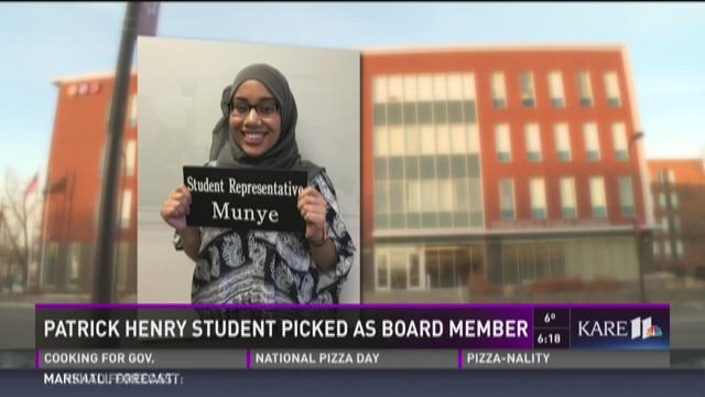 Kids who KARE: Student picked as board member