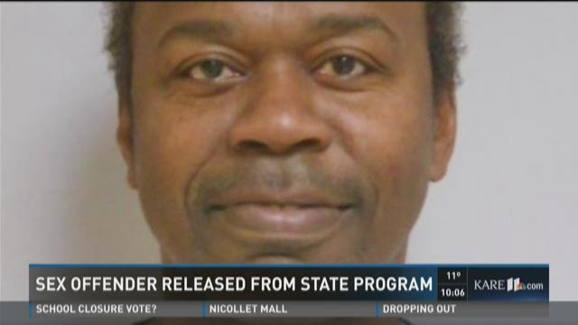 Sex offender released from state program