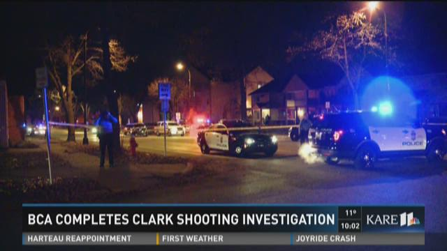 BCA completes Clark shooting investigation