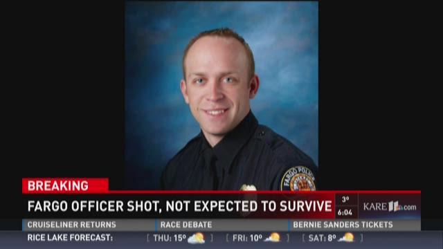 Fargo officer shot during standoff