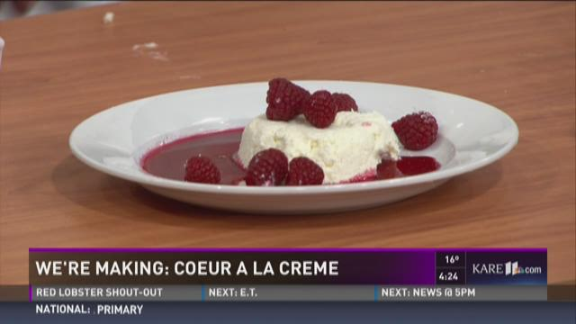 Coeur A La Cr�me recipe from Chef Beth Wells