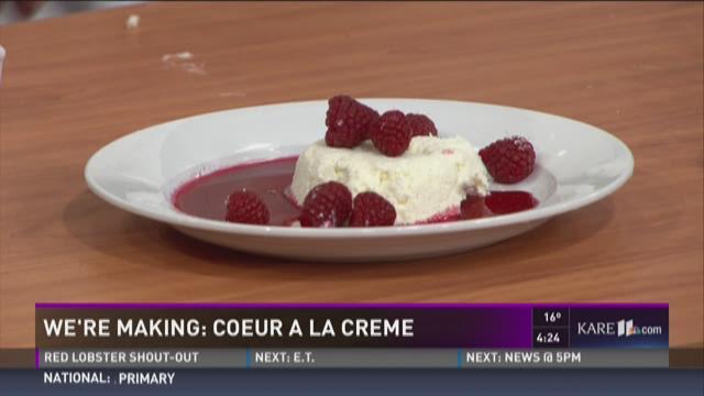 Coeur A La Cr�me recipe from Chef...