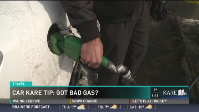 Car KARE Tip: Does your car have bad gas?