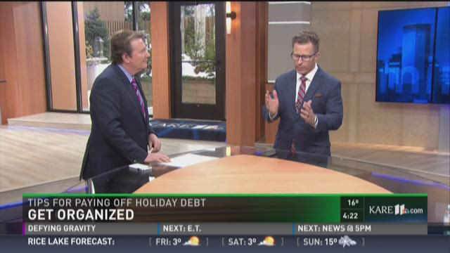 Tips for paying off that holiday debt