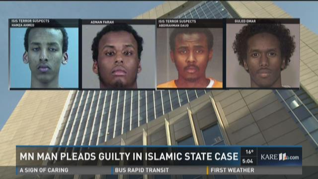 Minnesota man pleads guilty in Islamic State case