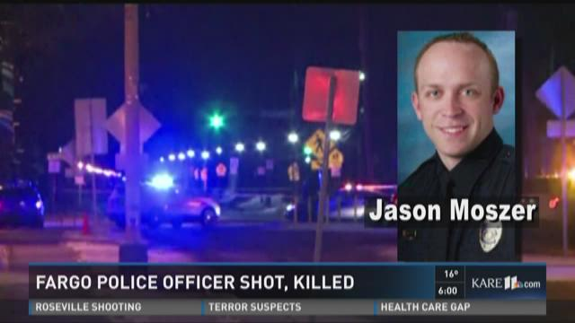 Fargo officer killed in shooting