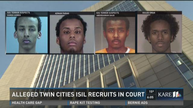 Alleged Twin Cities ISIL recruits in court