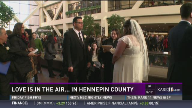 Love is in the air... in Hennepin County