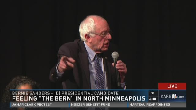 Campaign trail comes to Minnesota