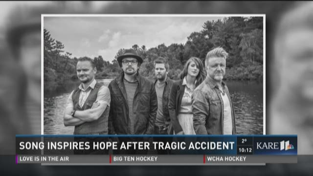 Song inspires hope after tragic accident