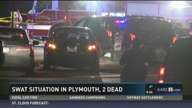 SWAT situation in Plymouth, 2 dead