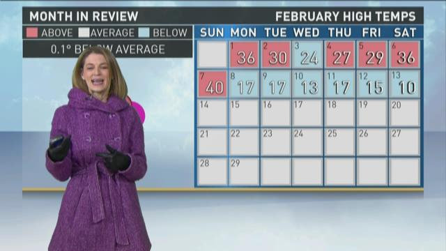 Late evening weather forecast 2-13-16