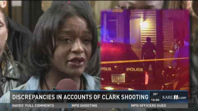 Hayes speaks, group calls for reopening Jamar Clark case
