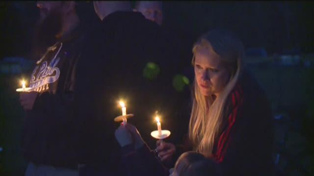 Vigil for Courtney Monson