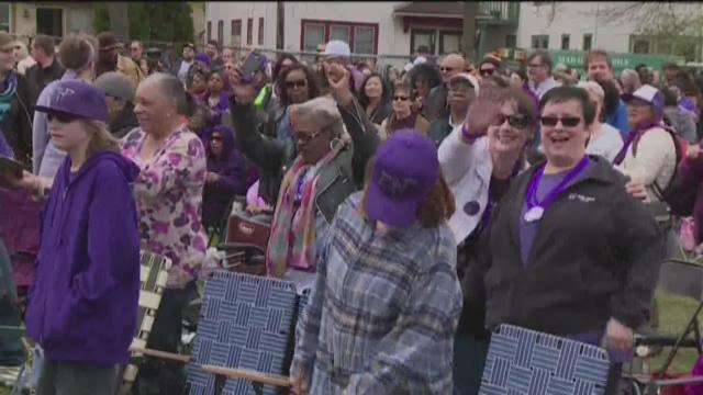 Prince's former neighborhood hosts block party
