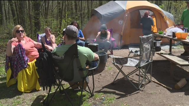 State park campground reservation changes