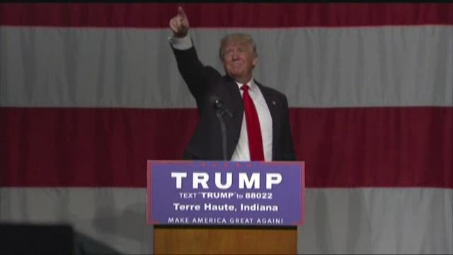 Trump ahead in Ind. poll, primary Tuesday