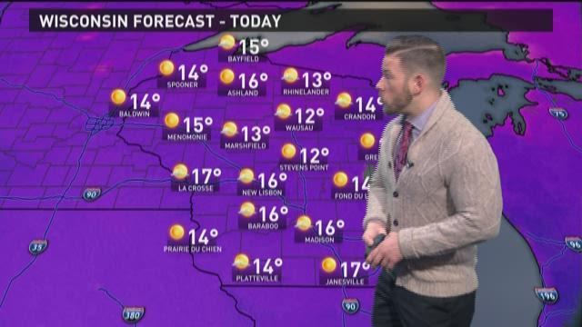 Wisconsin Weather 3-5-15