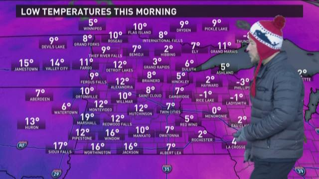 Late morning weather forecast 3-6-2015