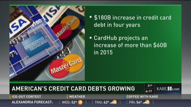 American's credit card debt keeps growing