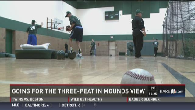 Going for the three-peat in Mounds View