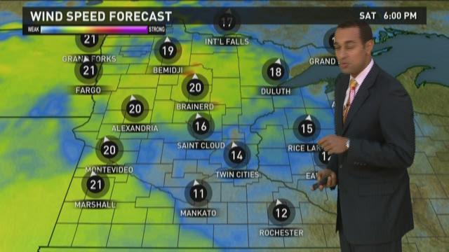 Evening weather forecast 3-28-15