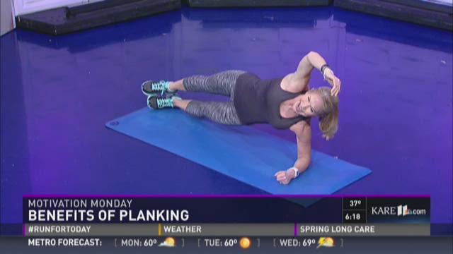 Motivation Monday: benefits of planking