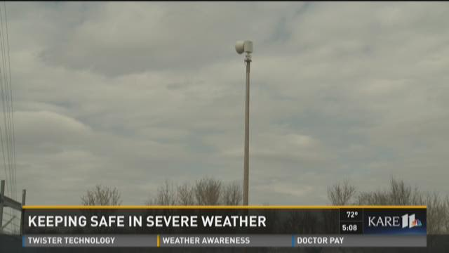Keeping safe in severe weather