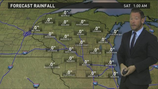 Wisconsin weather forecast for Friday, April 17