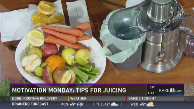 Motivation Monday: juicing 101