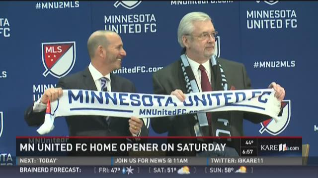 MN United home opener 1