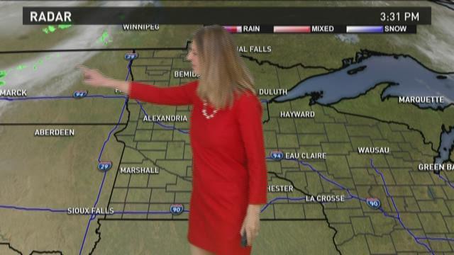Evening weather forecast 4-26-15